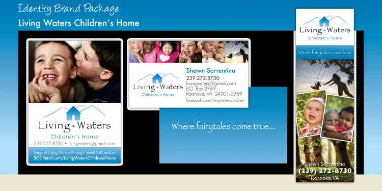 Living Waters Children's Home - Brand Identity Package