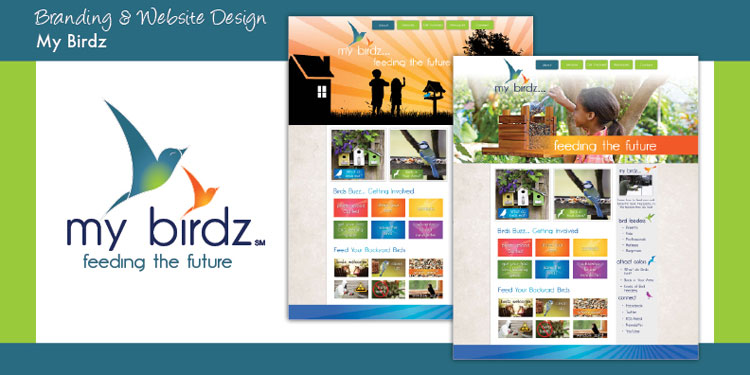 My Birdz - Website Design and Social Media