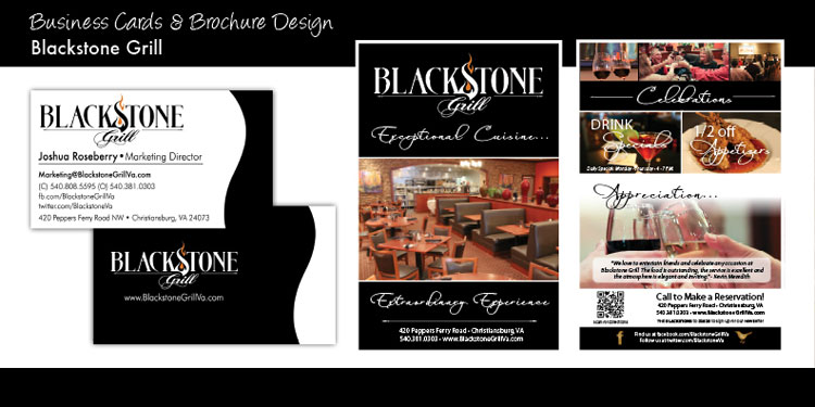 Blackstone Grill - Branding and Social Media