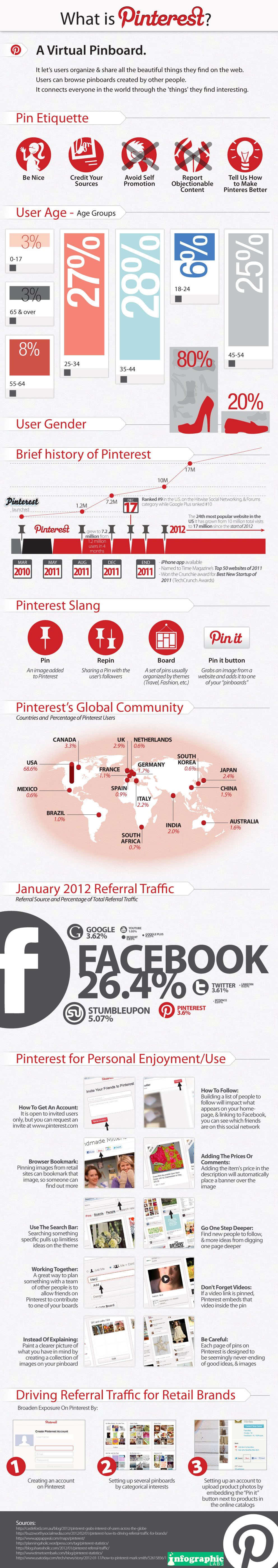 whatispinterest Everything You Need to Know About Pinterest [9 Infographics]