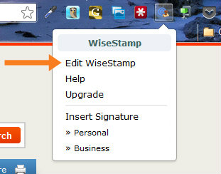 wisestamp1 Pimp Your Email Signature in 7 Simple Steps