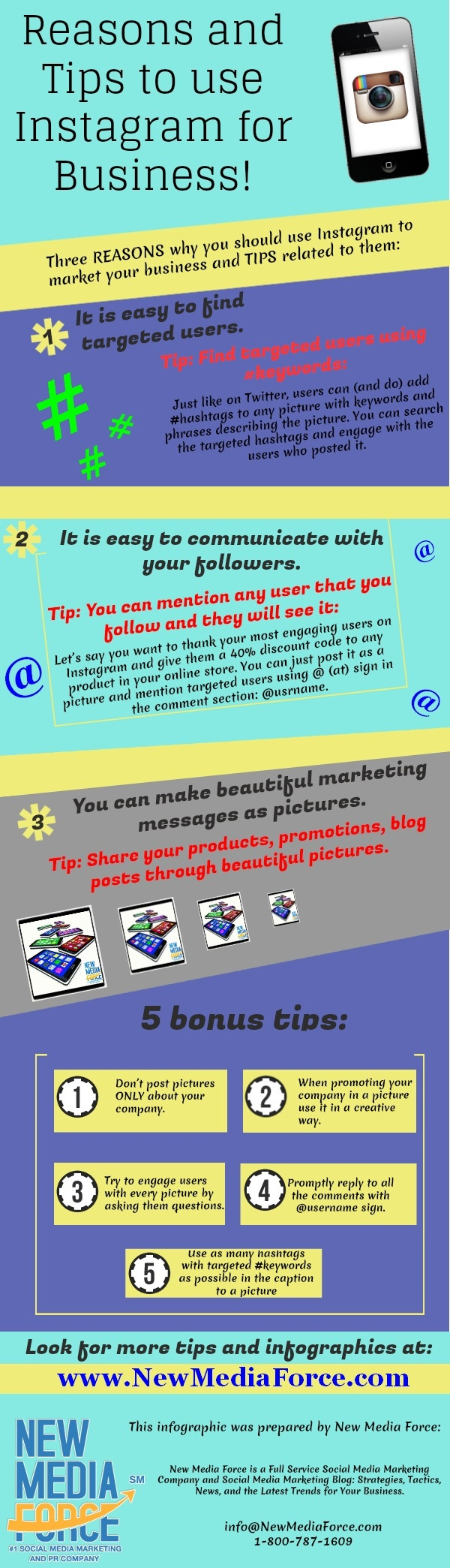 Reasons and Tips to use Instagram for Business!